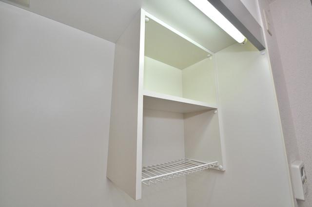 プリムローズHY1 キッチン棚も付いていて食器収納も困りませんね。
