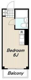 ドーミーセイセキ1階Fの間取り画像