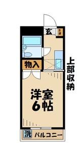 アイオンマンション3階Fの間取り画像
