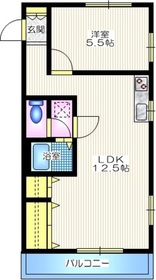 サン・ドミール2階Fの間取り画像