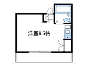 第一誠ビル2階Fの間取り画像