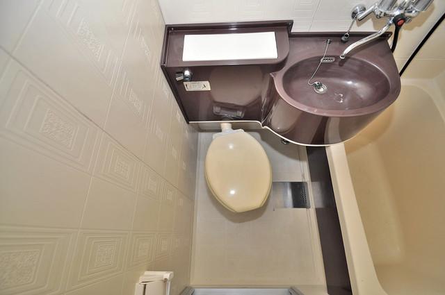 永和ビル 清潔感のある爽やかなトイレ。誰もがリラックスできる空間です。