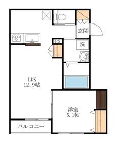 ノア・クレスト2階Fの間取り画像