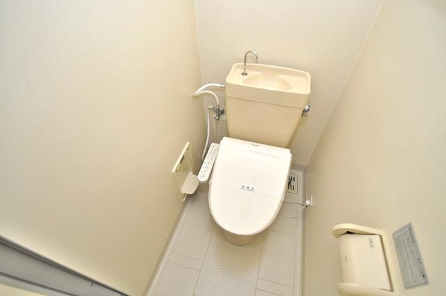 イマザキマンションエヌワン 清潔感のある爽やかなトイレ。誰もがリラックスできる空間です。