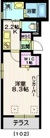 町田駅 徒歩5分1階Fの間取り画像