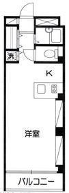 haramo cuprum5階Fの間取り画像