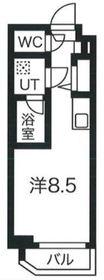 クラリッサ川崎梶ヶ谷1階Fの間取り画像