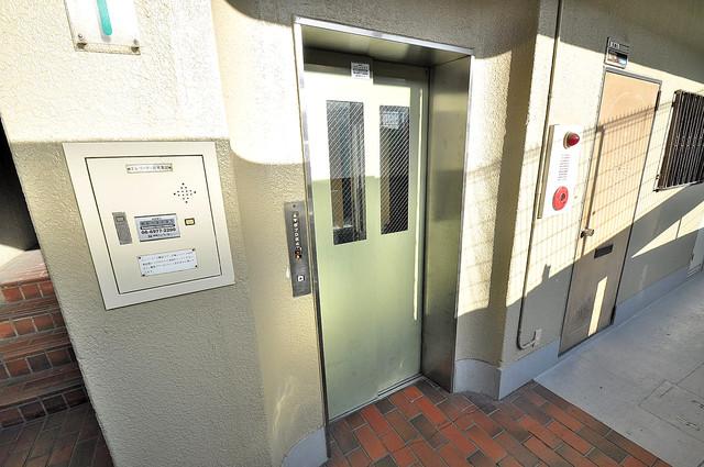 メゾン・ダイコー 嬉しい事にエレベーターがあります。重い荷物を持っていても安心