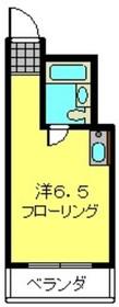 横特ビル5階Fの間取り画像