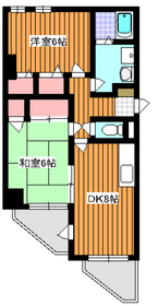 三高サンアヴェニュー4階Fの間取り画像