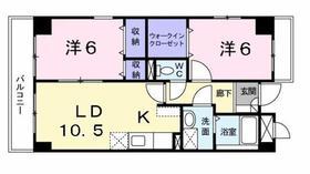 立川駅 徒歩18分2階Fの間取り画像