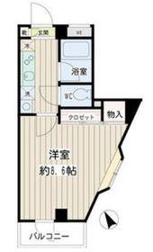 アビタシオンエトワール4階Fの間取り画像