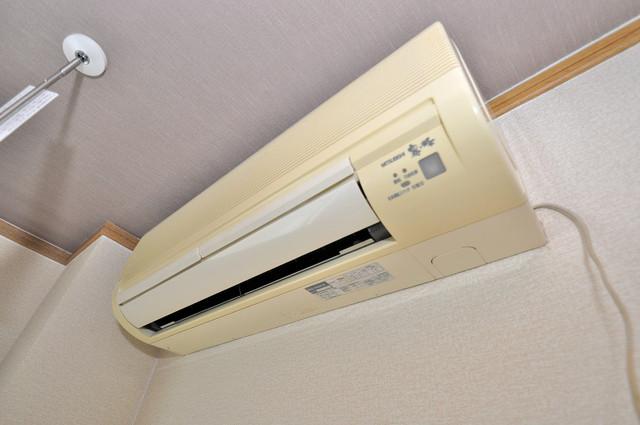 アリタマンション長瀬 うれしいエアコン標準装備。快適な生活が送れそうです。
