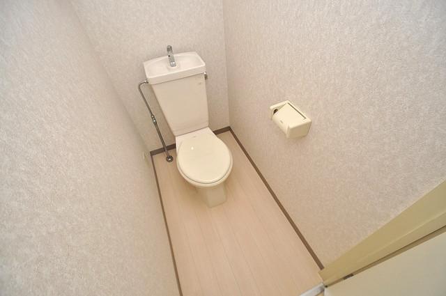 ボーリバージュ スタンダードなトイレは清潔感があって、リラックス出来ます。