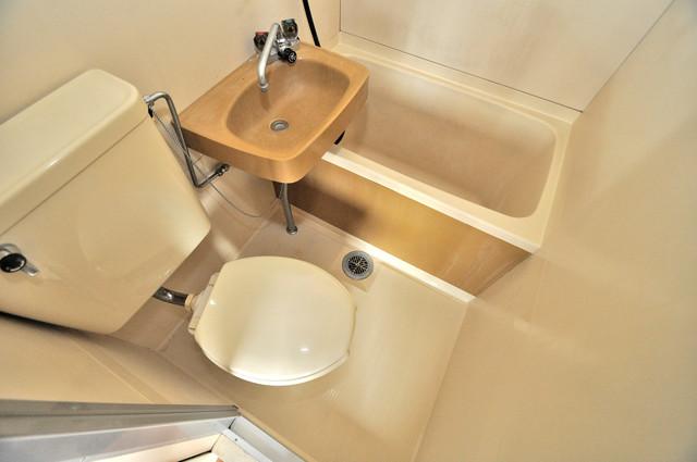 ブリリアント神路 ちょうどいいサイズのお風呂です。お掃除も楽にできますよ。