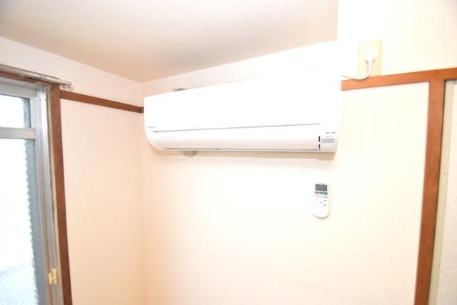 マンションSGI今里ロータリー エアコンがあるのはうれしいですね。ちょっぴり得した気分。