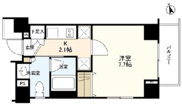 恵比寿駅 徒歩7分間取図