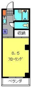 武蔵溝ノ口駅 徒歩34分1階Fの間取り画像