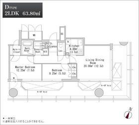 プラティーヌ御茶ノ水4階Fの間取り画像