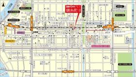 錦糸町駅 徒歩10分案内図