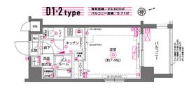 ZOOM川崎9階Fの間取り画像