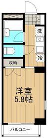 リバーサイドハイツ湘南4階Fの間取り画像