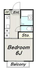 フルハウス2階Fの間取り画像