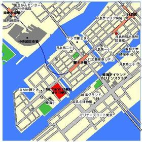 THE TOKYO TOWERS MIDTOWER案内図