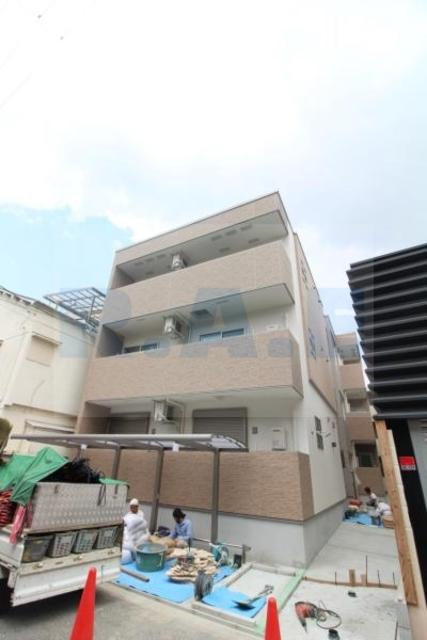 クラウド昭和町の外観