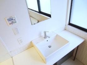 独立の洗面台が浴室にあります♪