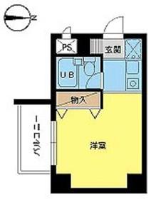 スカイコート戸田公園第31階Fの間取り画像