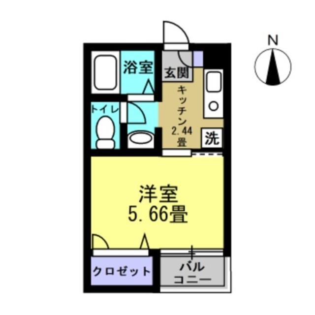 K2.44帖洋室5.66帖