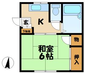 マルテルA2階Fの間取り画像
