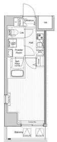 ヴェルシード阪東橋マキシヴ2階Fの間取り画像