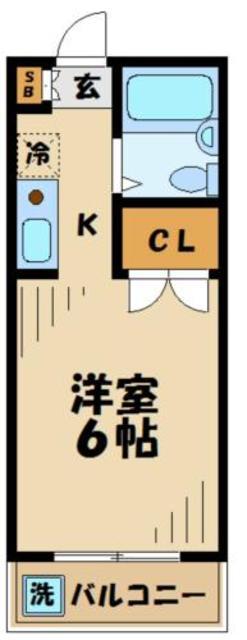 コートニュータウン間取図