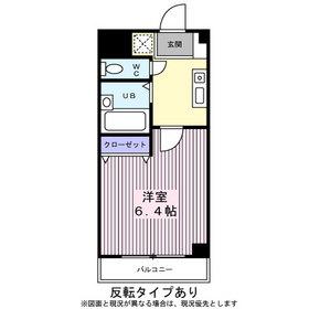 サンイング西船Ⅱ3階Fの間取り画像