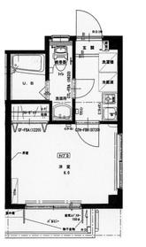 フェリーチェミヤマ3階Fの間取り画像