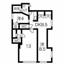 西高島平駅 徒歩13分1階Fの間取り画像