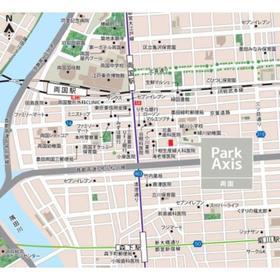 パークアクシス両国案内図