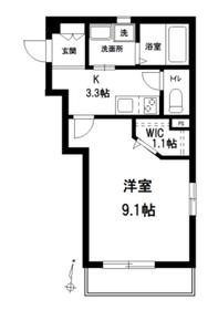 へーベルメゾン上石神井2階Fの間取り画像