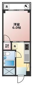 西武新宿駅 徒歩17分1階Fの間取り画像