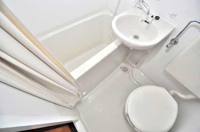 ニッコーハイツ俊徳 コンパクトですがしっかりと洗面もあります。