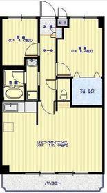 ネオックス弘明寺3階Fの間取り画像