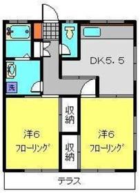 洋光台駅 徒歩18分2階Fの間取り画像