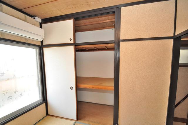 長田3-1-35 貸家 もちろん収納スペースも確保。いたれりつくせりのお部屋です。