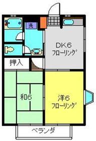 NAKⅢ2階Fの間取り画像