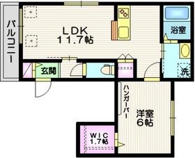 (仮称)大崎4丁目メゾン3階Fの間取り画像