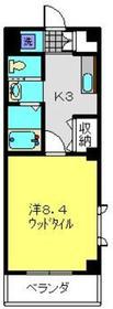 新川崎駅 徒歩24分3階Fの間取り画像