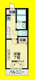 メゾンセージュ2階Fの間取り画像
