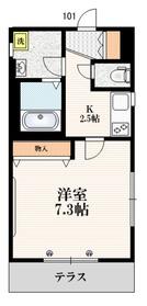 sakura maison1階Fの間取り画像
